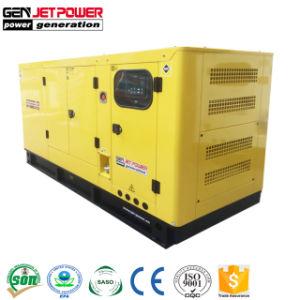 Générateur de puissance du moteur électrique de secours réduits au silence de 64 kw 80KVA Diesel Generator Prix