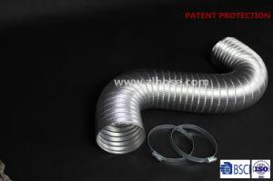Semi-Rigid conducto de aluminio flexible con pinzas para la calefacción (4'' x 8', 4 tornillos)