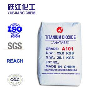 Het eerste Dioxyde van het Titanium van de Grondstoffen van de Deklaag van de Klasse BinnenAnatase- A101