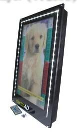 선수 (SY-026)를 광고하는 26inch 수직 뒤 설치 LCD