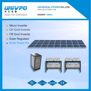 Sistema do Painel Solar 5 kw/desligar os Kits de energia solar de Grade