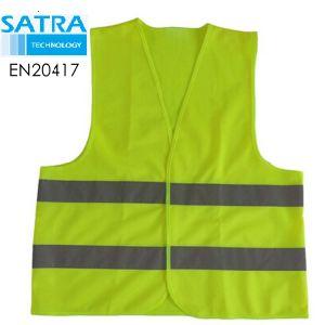 Chaleco reflectante de la UE 2016/425 PPE