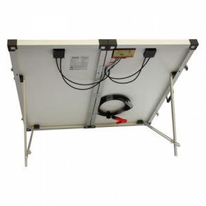 Plegable plegable 100W panel solar con tapón de Anderson
