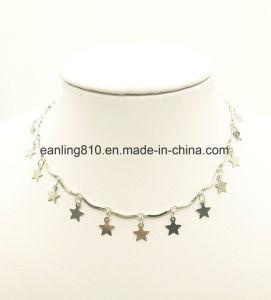 Estrelas elegante Lantejoulas Amaldiçoada Colar Jóias para Mulheres