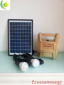 10W lanterna LED Camping Solar com pega fácil de transportar