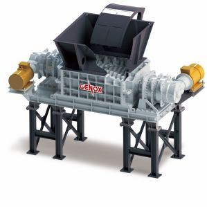 El eje de dos Shredder (X1600) /Máquina de plástico/reciclaje de llantas