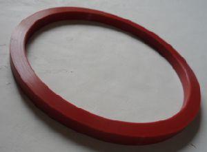 Прокладка красного цвета из силикона (BS-201112131)