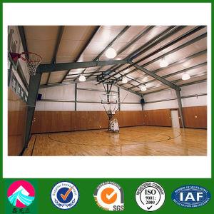 Estructura de acero de gran diseño moderno edificio de pabellón de deportes