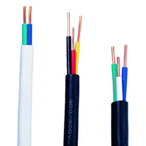 Prédio com isolamento de PVC Fios Thw do Fio