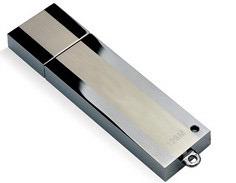 Le métal de la mémoire flash USB Pen Drive, Customed Pen Drive 4 Go