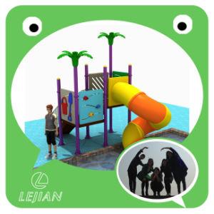 2016 Matériel de terrain de jeux de plein air chaud avec toboggan et rotation (12003A)