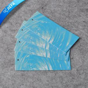 Élégant fait sur mesure de haute qualité papier Tag de pivotement