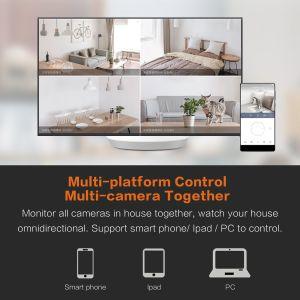 元のシャオMi 1080P WiFi IPのドームネットワークビデオ・カメラ