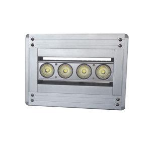 LED de alta potencia resistente al agua de las luces de publicidad en vallas asimétrica de 5 años de garantía