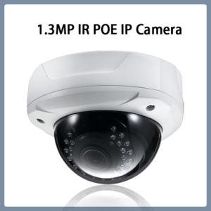 1.3MP Poe Vandalproof IR CCTV 안전 통신망 IP 돔 사진기