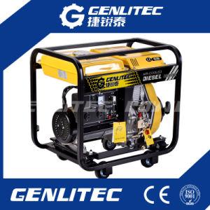 Refroidi par air 2.8/3.0kw monophasé Générateur Diesel Portable à démarrage électrique