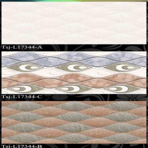 (Tsj-L17338) de Bruine Tegels van de Muur van Inkjet van de Kleur
