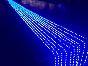 Personalizzare l'indicatore luminoso di striscia blu di colore LED del Aqua