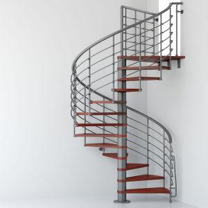 現代デザイン屋内ステンレス鋼の手すりの木の螺旋階段
