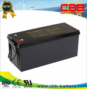 12V200ah глубокую цикла AGM пол машины / батареи аккумуляторов
