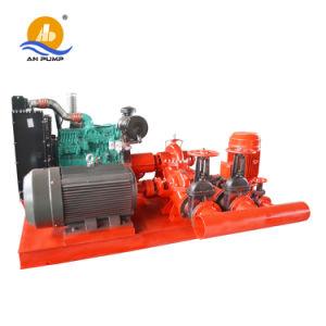 Horizontal à deux cas de fractionnement d'aspiration de pompe centrifuge