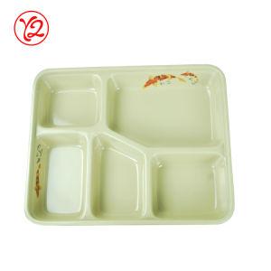 Big vendre recyclables Ddinnerware lumineux d'intérieur de la porcelaine paramétrez Bento Box