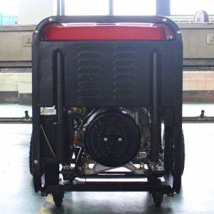 バイソン((h) 6kw 6kVA中国) BS7500dce AC単一フェーズの水からのセリウムによって証明される水素の発電機