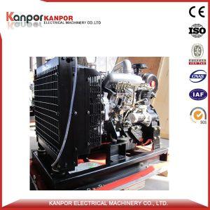 Motor Isuzu 32kw 40kVA (36kw 45kVA) Uso Militar gerador diesel