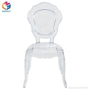 Banquete de acrlico transparente Tiffany Chiavari Belle Epoque