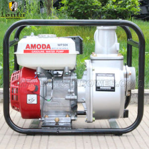 3 pulgadas de riego agrícola de la gasolina MOTOR HONDA GX200 Bomba de agua