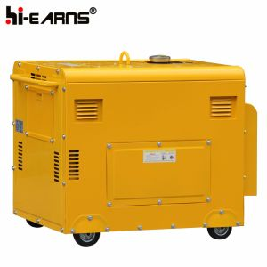 9HPディーゼル機関を搭載する4kw無声発電機(DG5500SE)