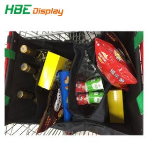 Tecido dobrável Saco de carrinho de compras reciclado