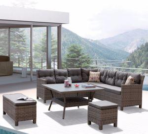 현대 여가 고리 버들 세공 등나무 안뜰 홈 호텔 사무실 옥외 정원 가구 (J545-POL)