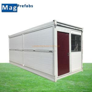 Instalación sencilla preparada de Casa contenedor contenedor plegable casas modulares casa