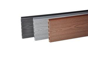 Comércio por grosso de madeira composto de plástico de protecção à prova de painel de bordo de piscina WPC Placa cerca o gerador de bricolage WPC