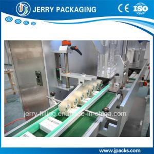 Jlj-650 Caixa automática de alta velocidade e de agrupamento de máquinas de cintagem