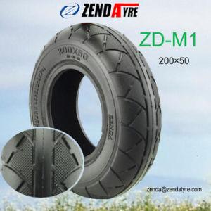 8inch空気のゴム製タイヤ200× 電気移動性のスクーターのための50