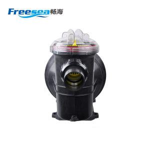 プールの高圧水ポンプ