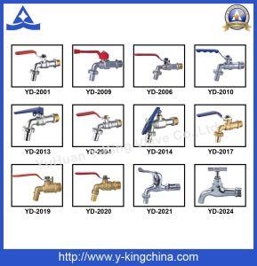Adaptador de compresión de latón de alta calidad con Stope extremos (YD-6055)