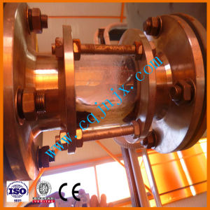 De zwarte Apparatuur van de Distillatie van de Olie van de Motor van de Auto met de Certificatie van Ce