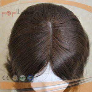 バージンカラー医学のレースの前部絹の上の女性のかつら(PPG-l-0793)