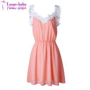Suelta los modelos de manga corta vestimenta informal para niña L282424