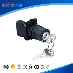 2 positions à accrochage Interrupteur bouton poussoir sélecteur de clé