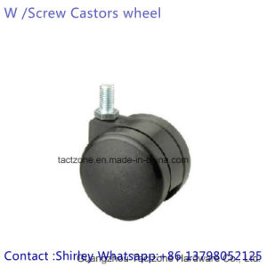 Alta qualidade com núcleo de ferro fundido pesado de PU giratório roda pivotante