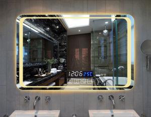 Salão/Wall-Mounted/WC/quarto/banheiro/Chamada de Música/Colunas Bluetooth/Hotel Engenharia/remoção de Nevoeiro Automática/Tela sensível ao toque/Impermeável de espelho de LED de obscurecimento dinâmico