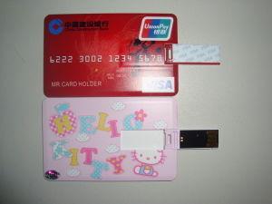 クレジットカードUSBのフラッシュドライブ(KD046)