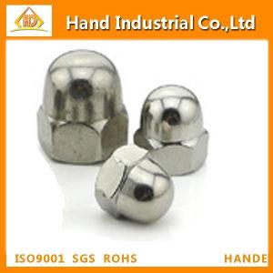 La norme DIN1587 Pièce de fixation en acier inoxydable en forme de dôme hexagonal de l'écrou borgne