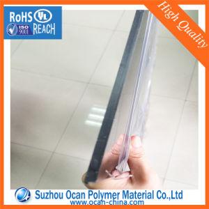Claro Transparente 1mm de espesor de la hoja de plástico de PVC para el frío o caliente doblar