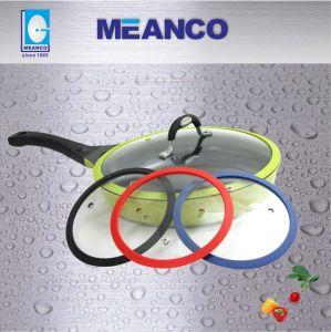 Anneau de couvercle en verre trempé de silicium (SRG type) pour une batterie de cuisine