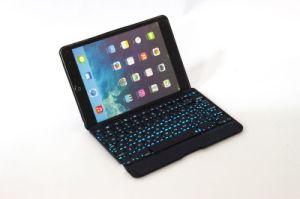 7 cores de alta qualidade Luzes Traseira Teclado Sem Fio para iPad Mini